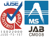ISO22000 certified