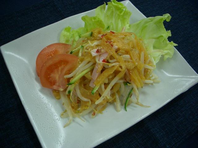 しゃきしゃき中華サラダ