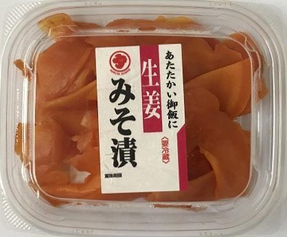 生姜みそ漬 75g