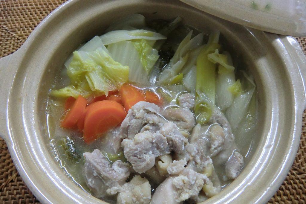 鶏の塩麹鍋
