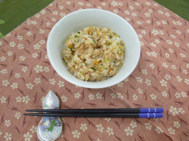 生姜とツナの混ぜご飯