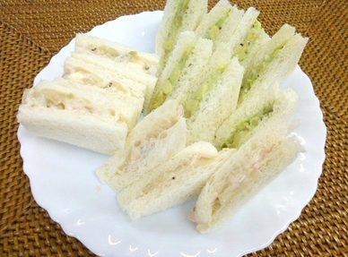 サンドイッチ2種<ツナ、アボカド>