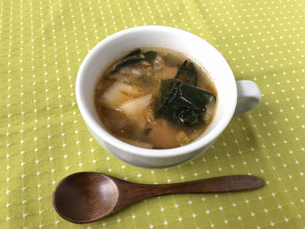 甘酒キムチスープ
